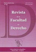 Portada N° 36 Revista de la Facultad de Derecho