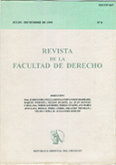 Tapa de la Revista de la Facultad de Derecho n.º 8