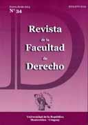 Portada N° 34 Revista de la Facultad de Derecho