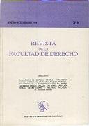 Tapa de la Revista de la Facultad de Derecho n.º 6