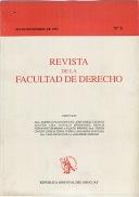 Tapa de la Revista de la Facultad de Derecho n.º 5