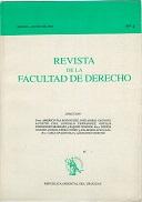 Tapa de la Revista de la Facultad de Derecho n.º 4