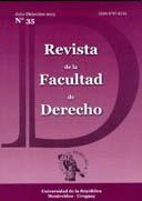 Portada N° 35 Revista de la Facultad de Derecho