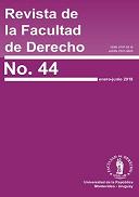 Portada de la Revista de la Facultad de Derecho, número 44