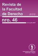 Tapa de la Revista de la Facultad de Derecho n.º46