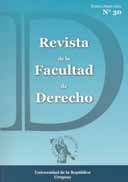 Tapa de la Revista de la Facultad de Derecho n.º 30