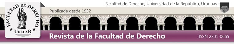 Revista de la Facultad de Derecho